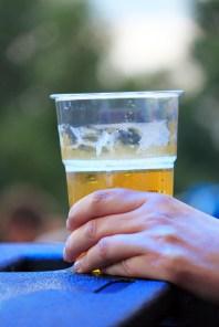 plastic beer