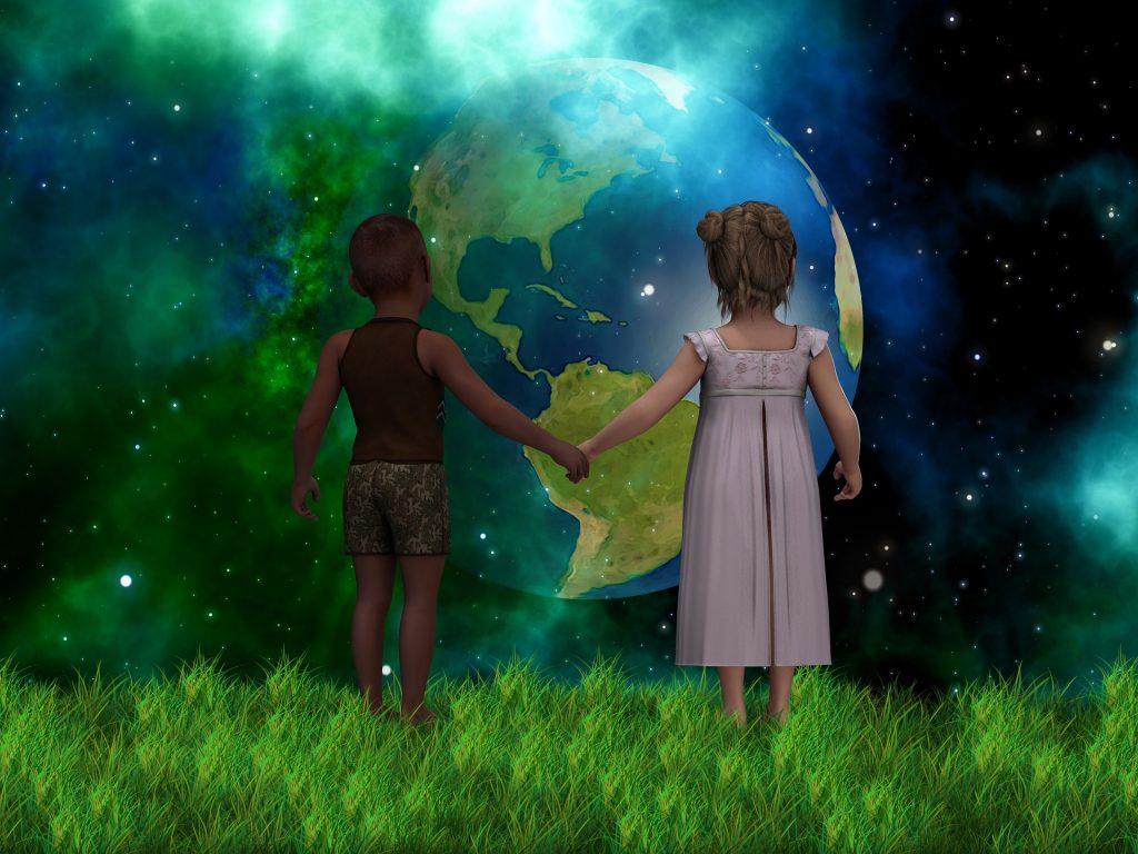 pianeta mondo pianeta terra bambini  SOS TERRA