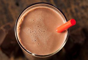 chocolate milk - Copyright – Stock Photo / Register Mark