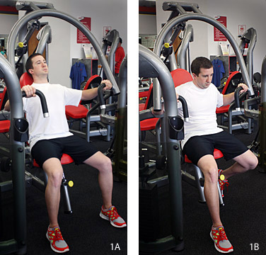 The Chest-Bench Press Exercise - Copyright – Stock Photo / Register Mark