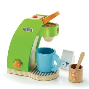 Hape toy coffee maker