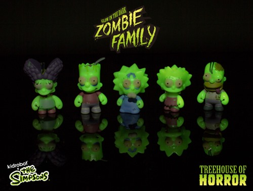 The Simpsons - Zombie Family