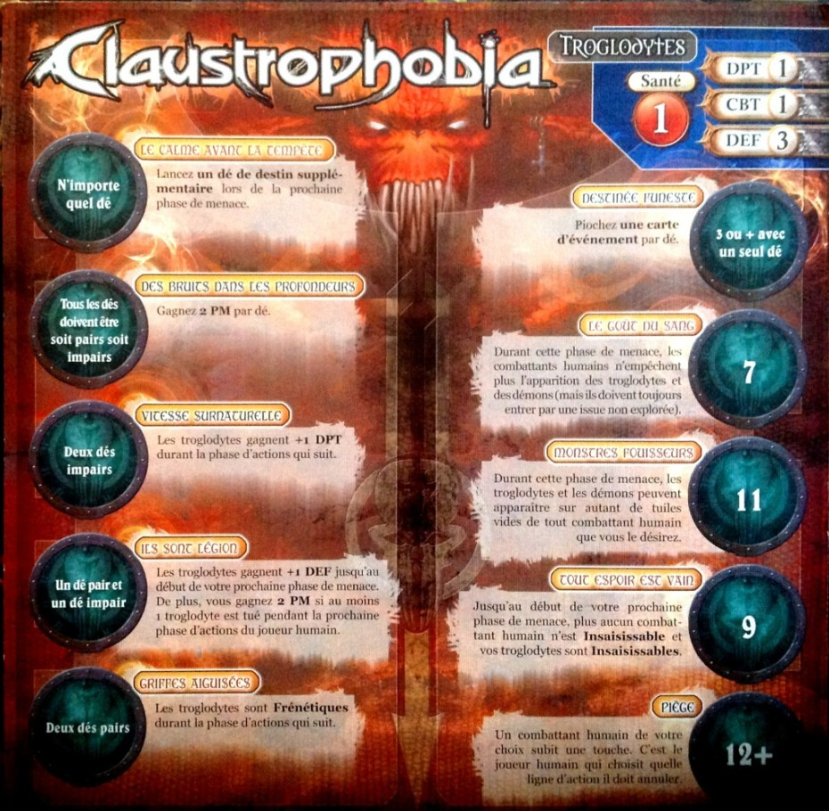 claustrophobia plateau demon
