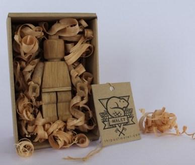 wooden art toy