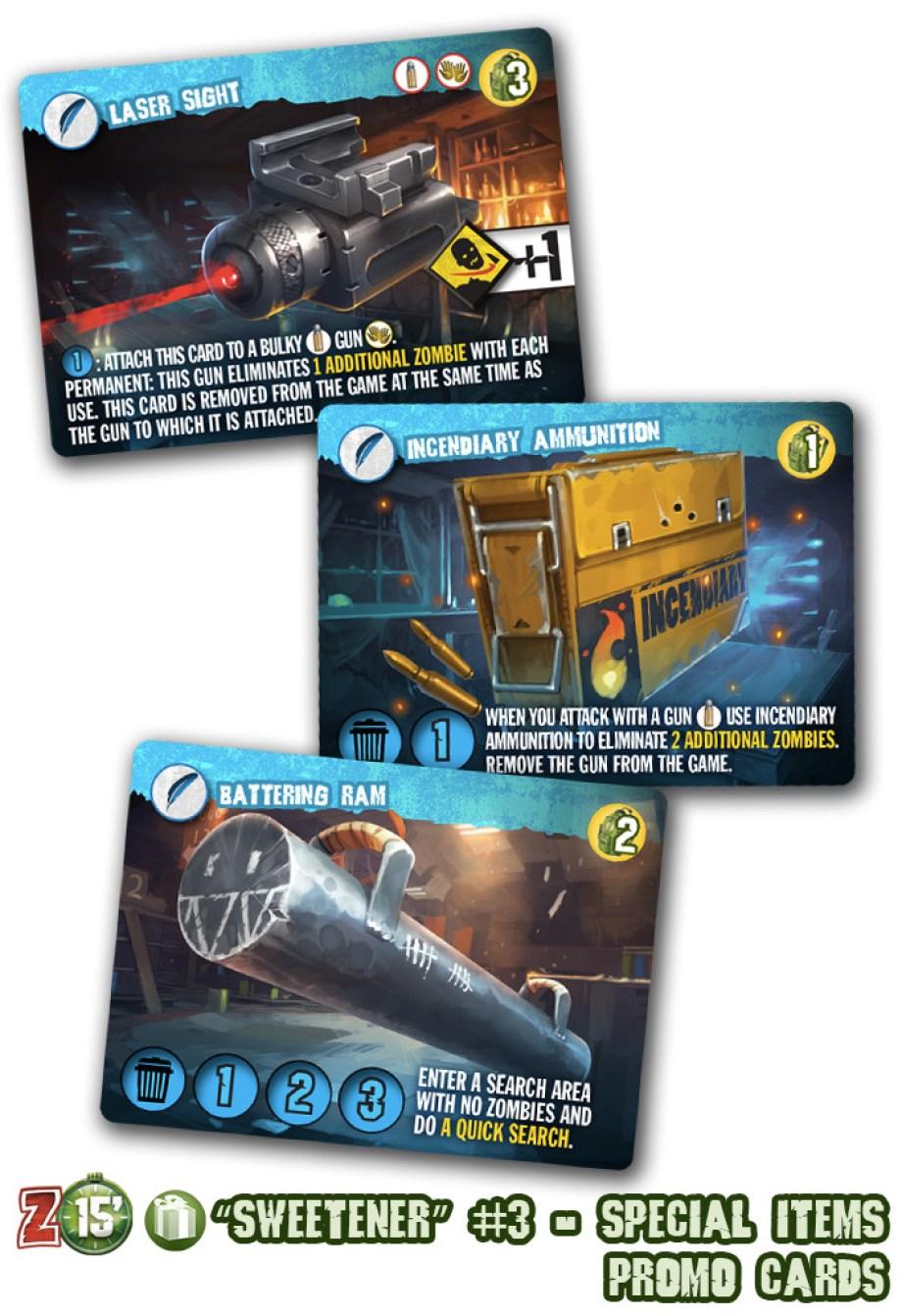 zombie 15 carte armes