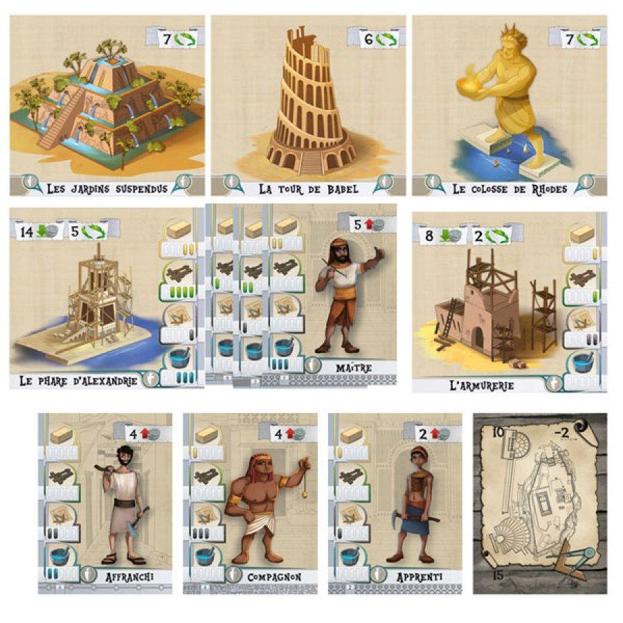 Les Bâtisseurs Antiquité