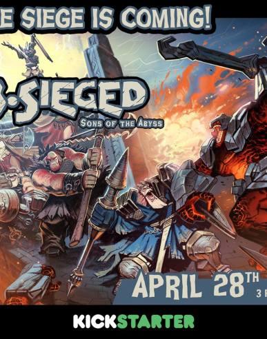 B-Sieged sur Kickstarter