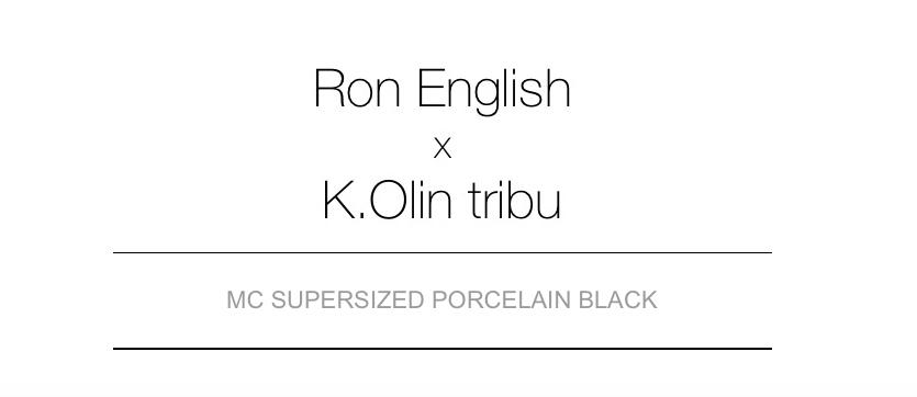MC Supersized porcelain black