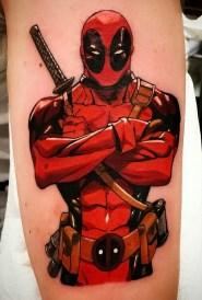 The Inkpad Tattoo Saltcoats Tattoo best of tattoo geek peau deadpool marvel