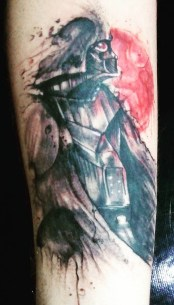 Alexandre Santos Duarte best of tattoo star wars darth vader