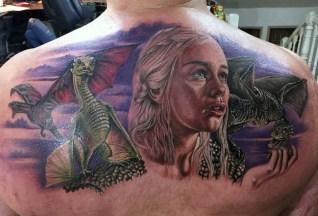 Chris Jones geek best of tattoo game of thrones GOT