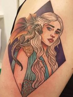 Christine Horvei geek best of tattoo game of thrones GOT