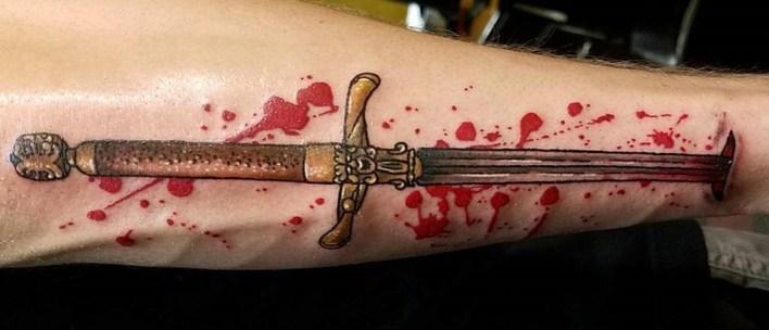 Rhiannon Edwards geek best of tattoo game of thrones GOT