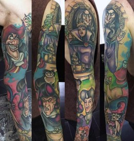 Chris Hatch best of tattoo geek peau villains