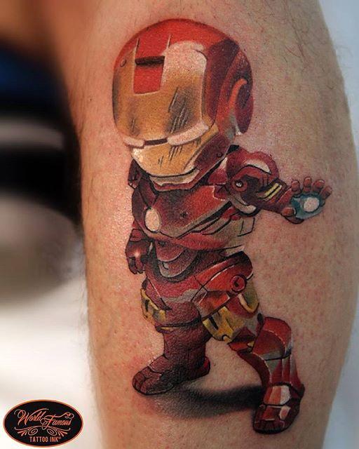Denis Torikashvili Tidan best of tattoo iron man