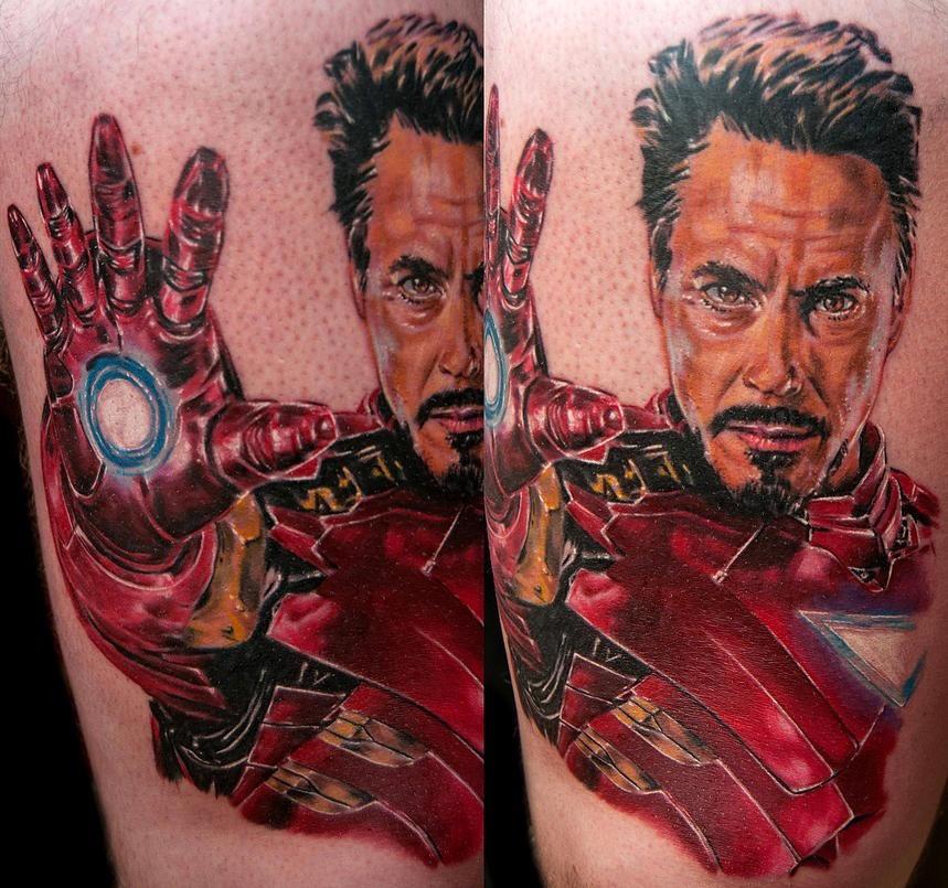 Josh Bodwell best of tattoo iron man