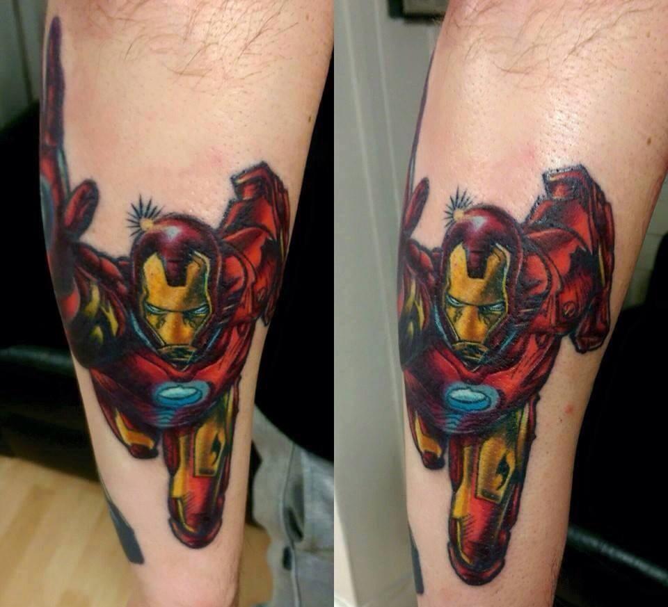 best of tattoo iron man