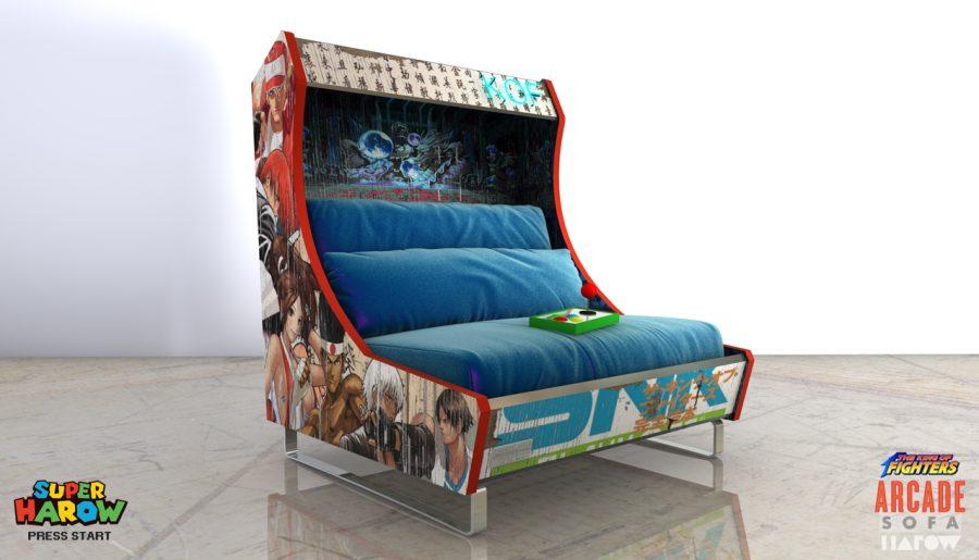 Tom's Selec - arcade sofa