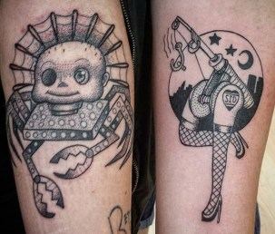 Bruno Best of Tattoo Toy Story