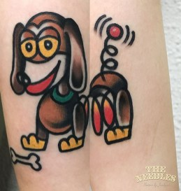 Jackpot Tattoer Best of Tattoo Toy Story