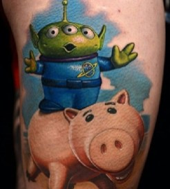 Nikko Hurtado Best of Tattoo Toy Story