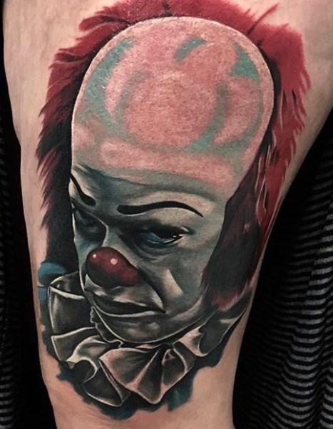 James Matthews best of tattoo it ca pennywise clown horror movie float