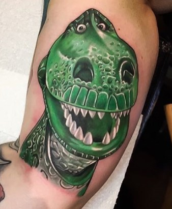 Jordan Baker Best of Tattoo Toy Story