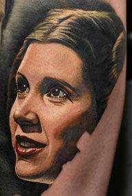Nikko Hurtado best of tattoo star wars leia