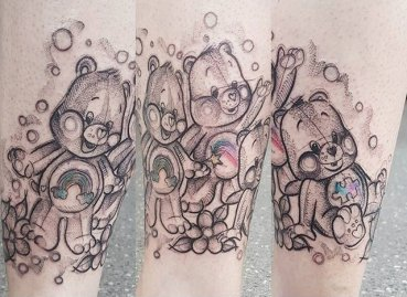 Kerste Diston best of tattoo care bears bisounours