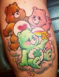 Miss Poppy best of tattoo care bears bisounours