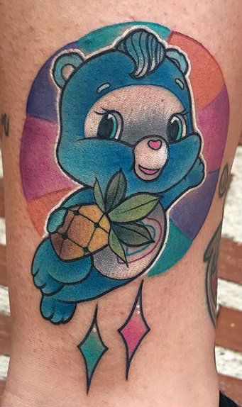 YAUU best of tattoo care bears bisounours
