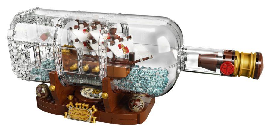 Tom's Selec - bateau en bouteille lego