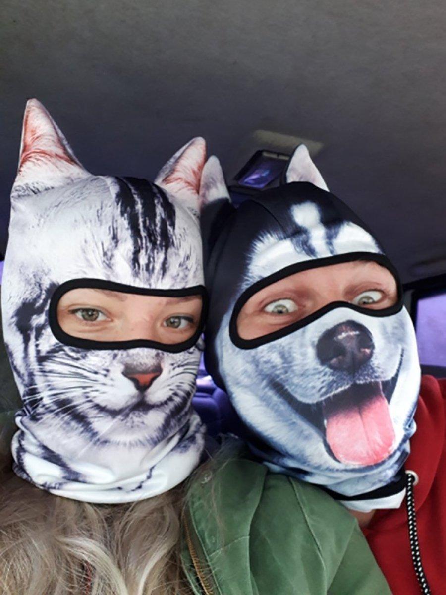 Tom's Selec - masques de ski animaux