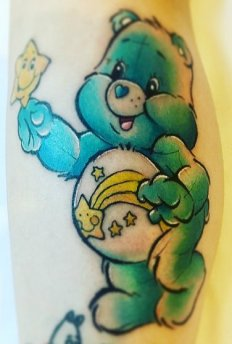 unknown best of tattoo care bears bisounours