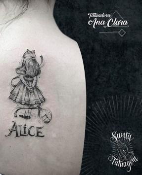 Ana Clara Felix geek tattoo best of tattoo alice wonderland pays merveilles