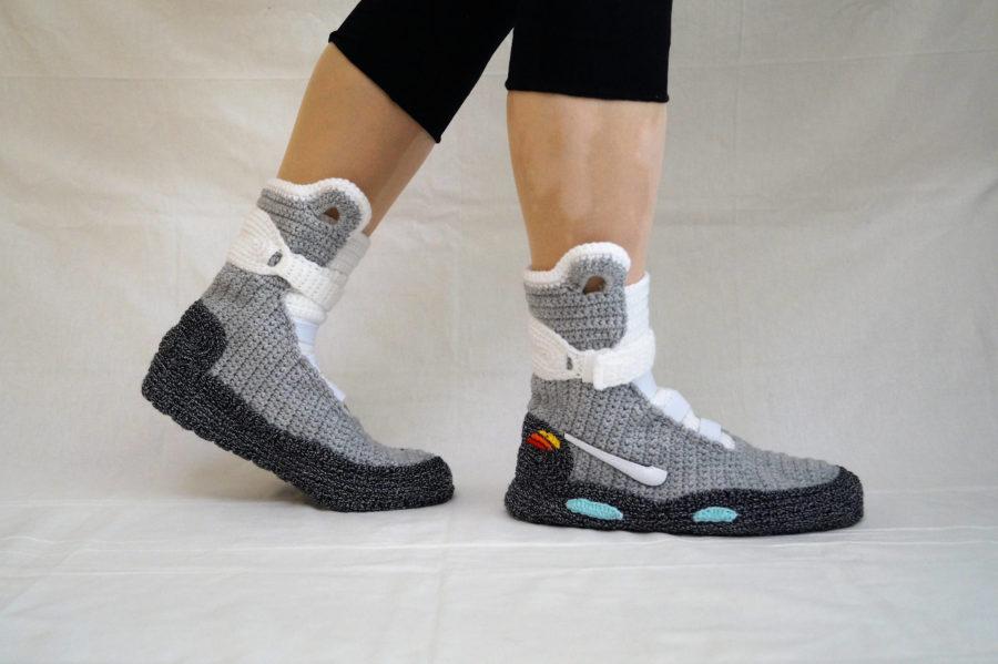 Tom's Selec - pantoufles retour vers le futur