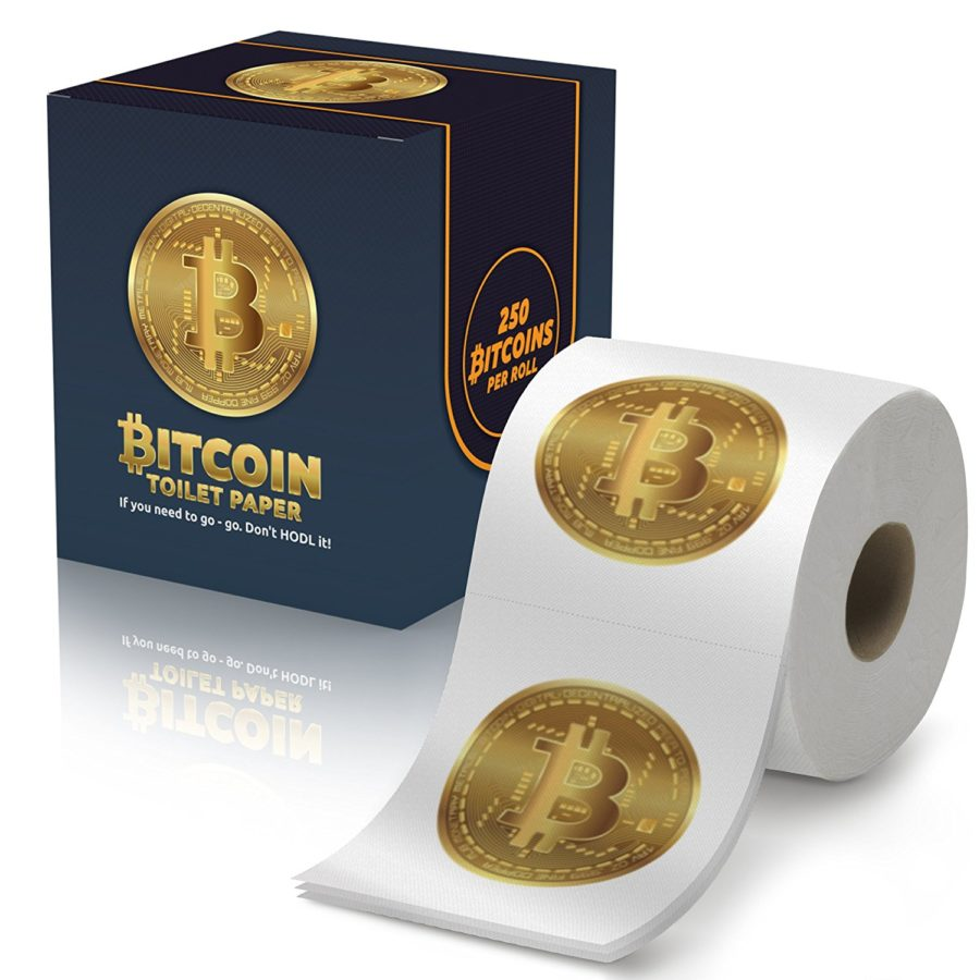 Tom's Selec - papier toilette bitcoins