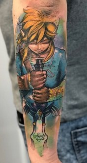 Adam Rzychu best of tattoo geek dans la peau
