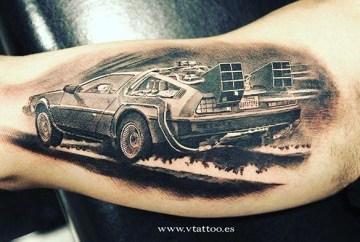 geek dans la peau best of tattoo back to the future