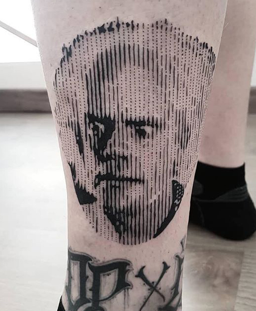Marco Bordi geek dans la peau best of tattoo back to the future