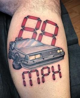 Chilo Garcia geek dans la peau best of tattoo back to the future