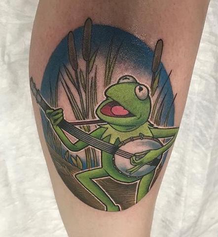 Black Rabbit Tattoo muppets tattoo geek