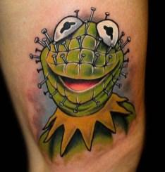 Chris 51 muppets tattoo geek
