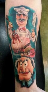 Propaganda Tattoo muppets tattoo geek