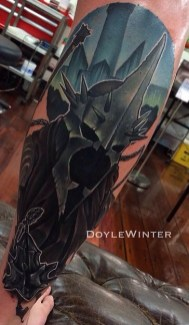 Dale Winter LOTR lord of the ring geek tattoo tag