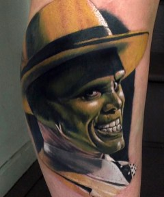 Kristian Kimonides geek peau best tattoo jim carrey tag
