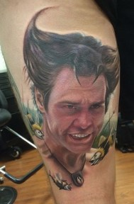Kyle Cotterman geek peau best tattoo jim carrey tag