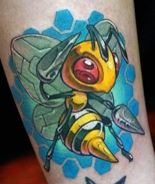 Hori Benny best of tattoo tag geek pokemon
