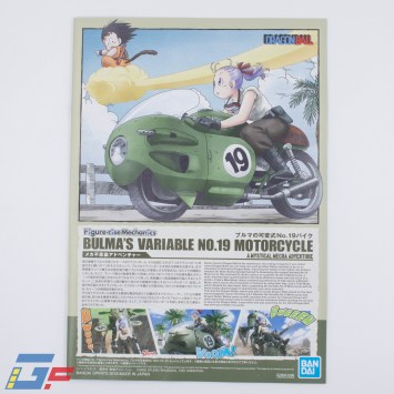 FIGURE RISE MECHANICS BULMA MOTORCYCLE BANDAI UNBOXING GALLERY TOYSANDGEEK @Gundamfascination-23