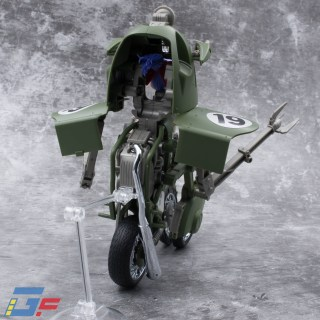 FIGURE RISE MECHANICS BULMA'S VARIABLE N°19 MOTORCYCLE TRIKE MODE BANDAI GALLERY TOYSANDGEEK @Gundamfascination-3